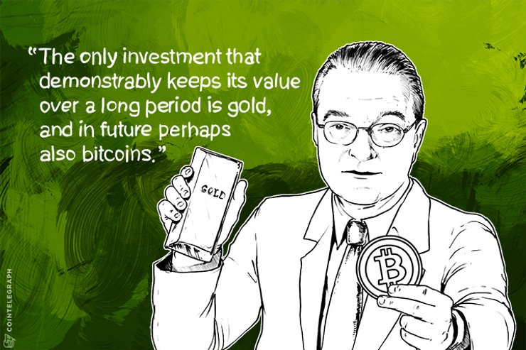 Ex-Credit Suisse CEO: Invest in Gold and Bitcoin Long-term, Not Fiat