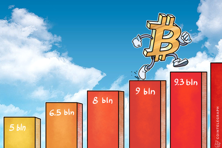Bitcoin Surpasses $ 9 Bln Market Capitalization, Its Price and Acceptance Surging