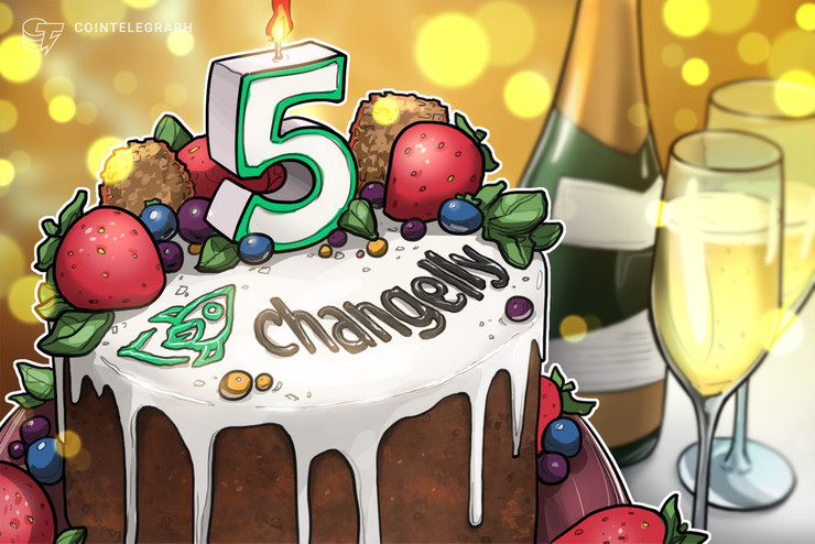 Crypto Exchange Launches Fifth Anniversary Celebration Campaign