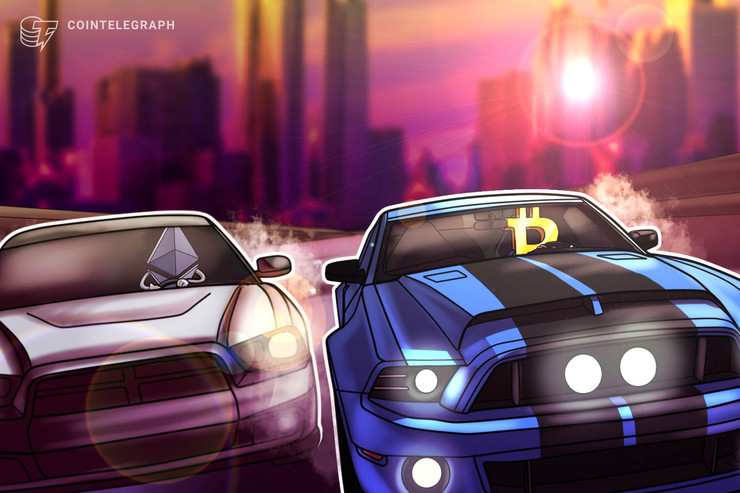 Ethereum Now Rivals Bitcoin for Daily Value Transfers