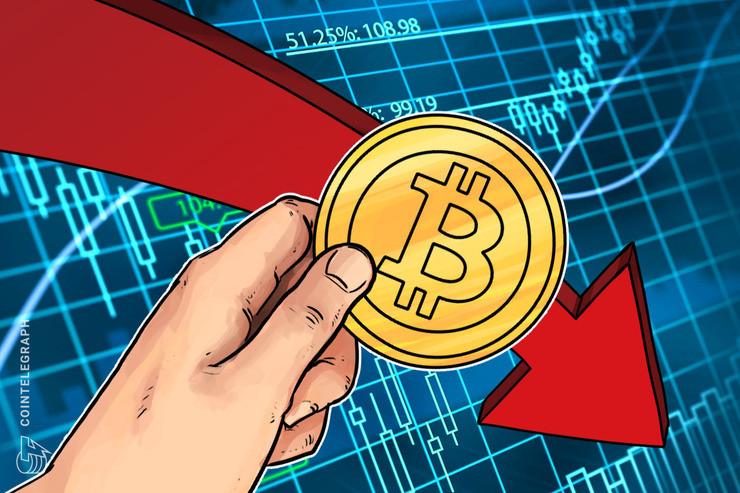 USD 150 millones en contratos futuros se han liquidado después de que el precio de Bitcoin se redujo a USD 9,350