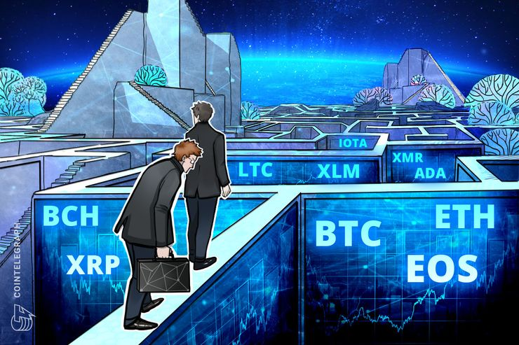 Bitcoin, Ethereum, Ripple, Bitcoin Cash, EOS, Stellar, Litecoin, Cardano, Monero, IOTA: Análise de preços, 29 de agosto