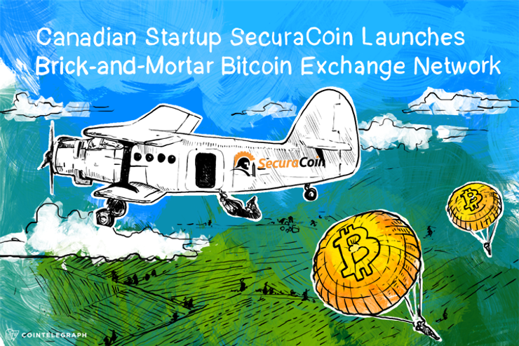 Canadian Startup SecuraCoin Launches Brick-and-Mortar Bitcoin Exchange Network