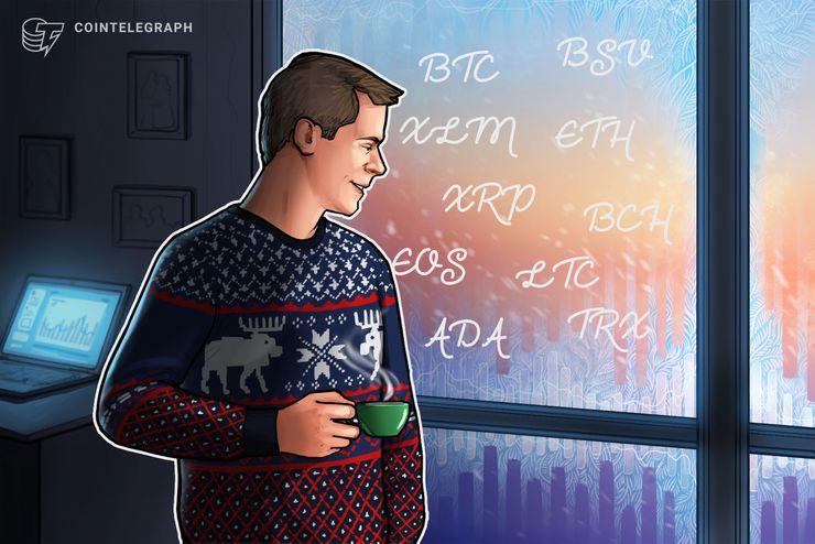 Kursanalyse, 7. Januar: Bitcoin, Ethereum, Ripple, Bitcoin Cash, EOS, Litecoin, Stellar, Bitcoin SV, TRON, Cardano