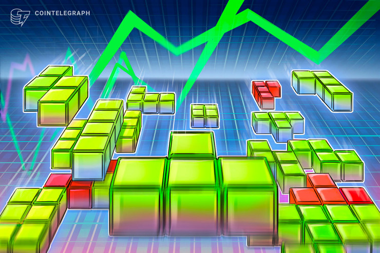 Crescita moderata dei mercati delle criptovalute, continuano le perdite per BSV