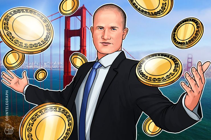 Brian Armstrong: Coinbase Signed Up 50,000 Users per Day in 2017