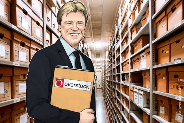Overstock Shares Surge To 3-years Maximum due to ICO Trading Plans