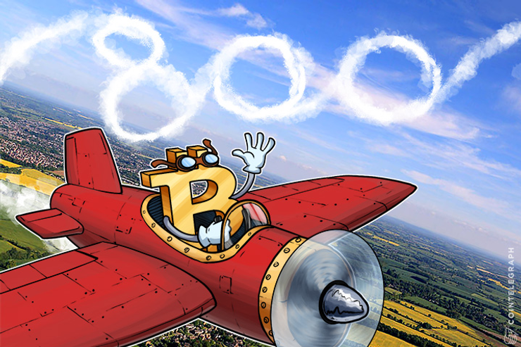 Bitcoin Breaks $835 in China, Controls 93 Percent of Trading