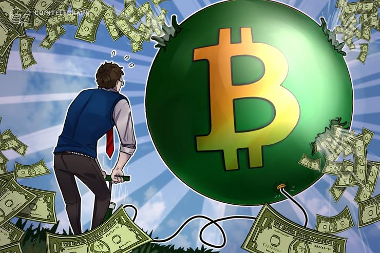 """Un """"Growth hacker"""" escondió 100 calcomanías por una ciudad para regalar Bitcoin Cash"""