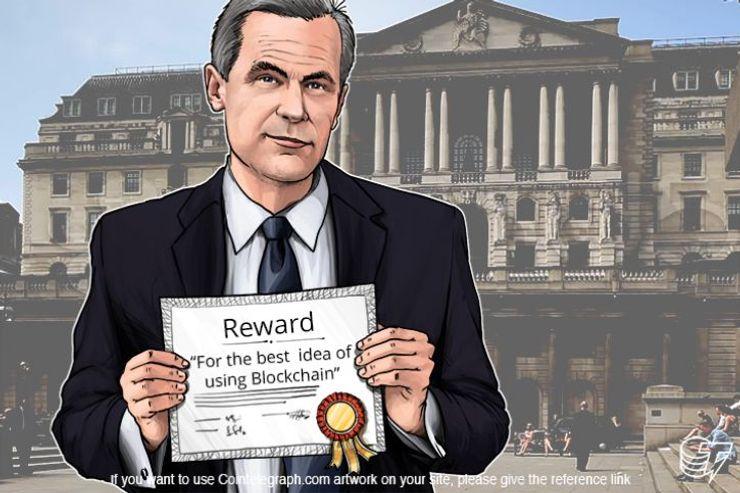 イングランド銀行、学生のビットコイナー向けに大賞金
