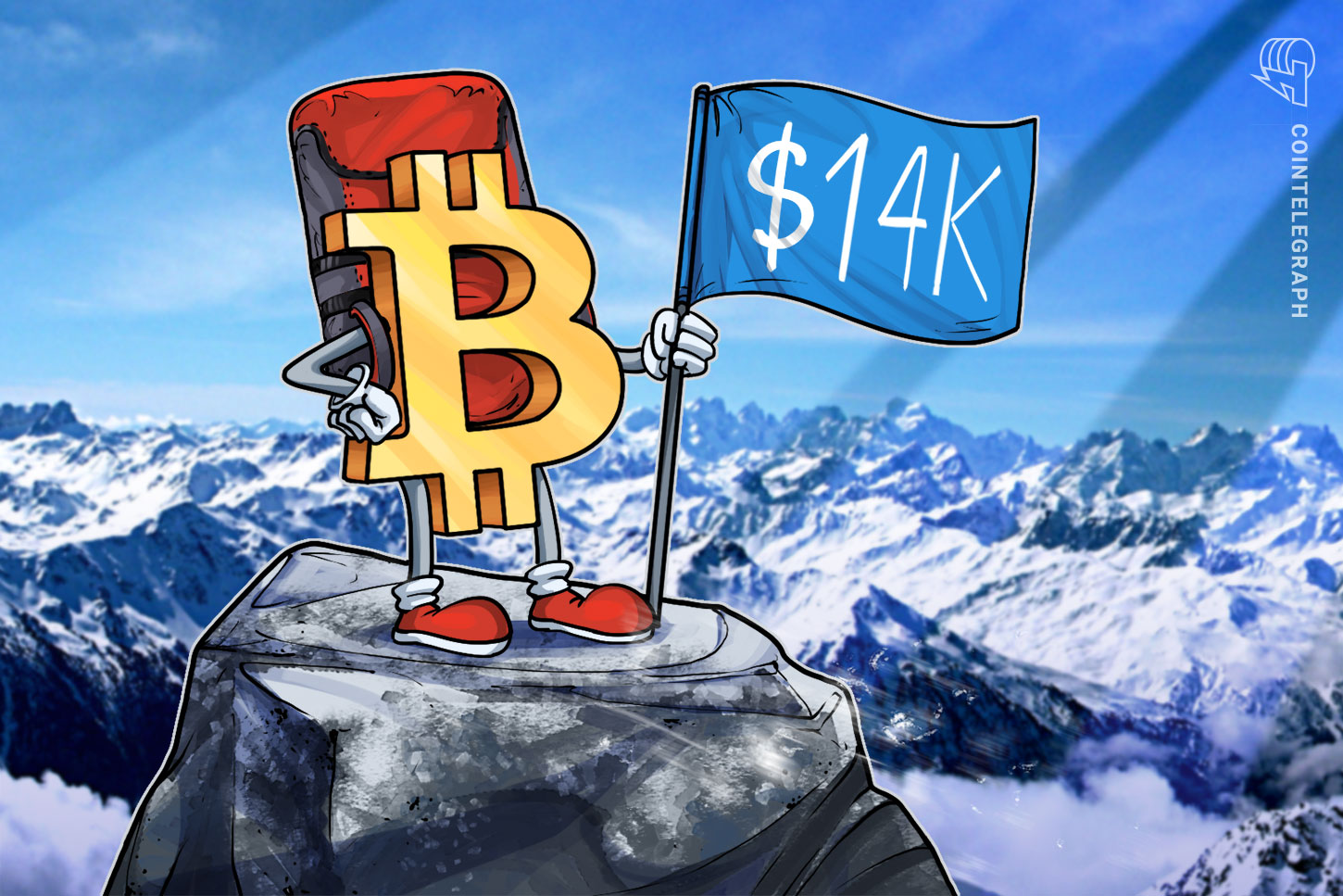 Bitcoin reaches $14K for the first time since January 2018 — what's next?