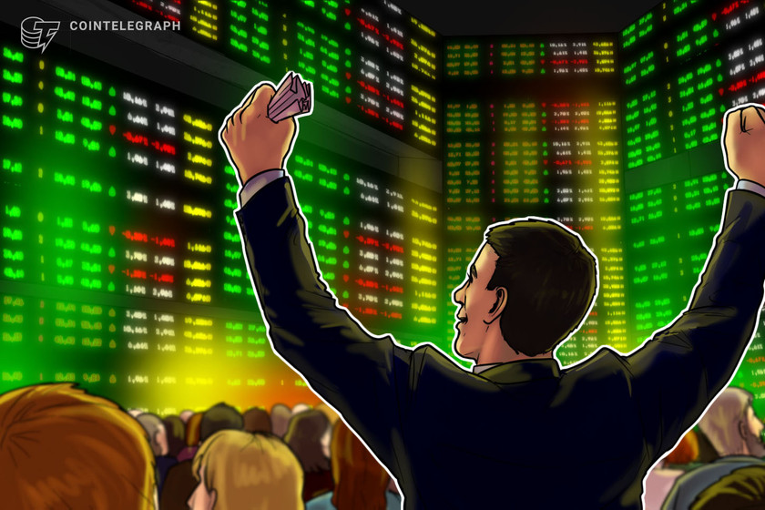 Institutions help drive rally as Bitcoin ETP volumes surge 50%