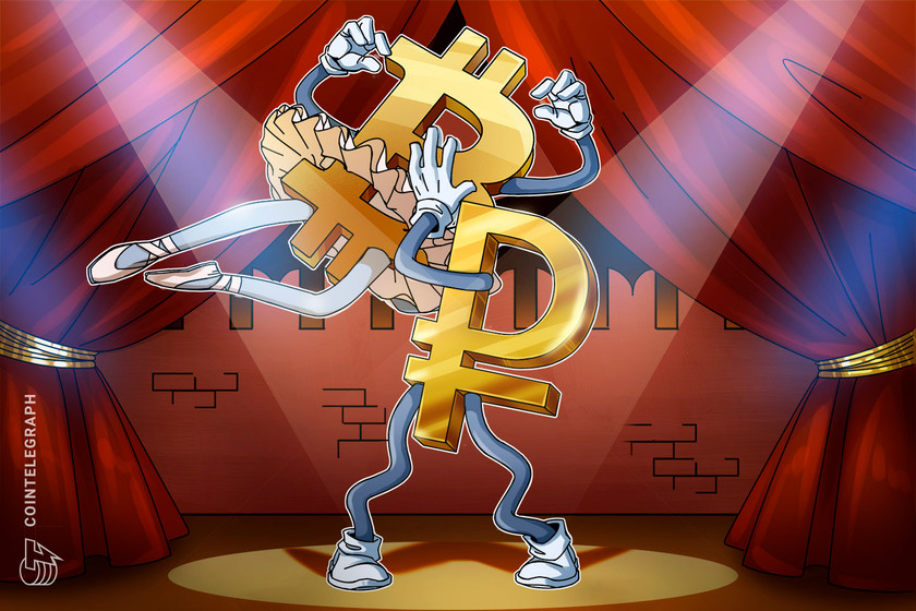 Bitcoin hits all-time high against Russian ruble