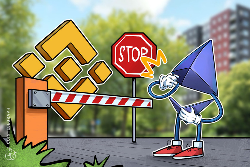Binance pauses Ethereum withdrawals as network suffers 'minor hard-fork'