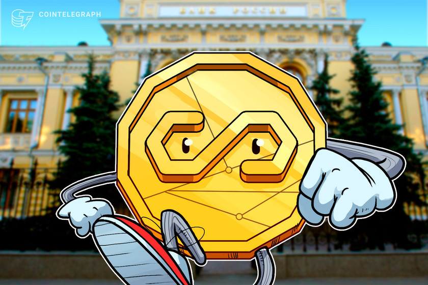 Russian central bank opposes ruble-pegged stablecoins
