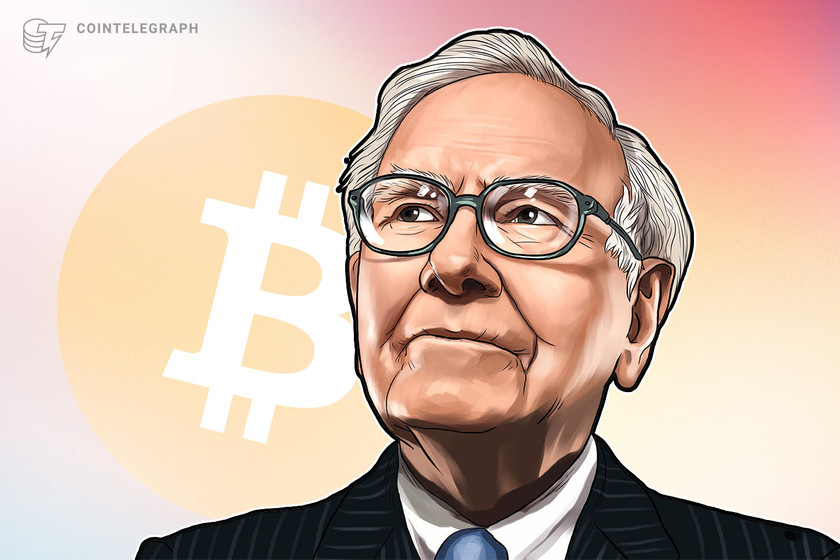 'Rat poison squared' Bitcoin passes Warren Buffett's Berkshire Hathaway by market cap