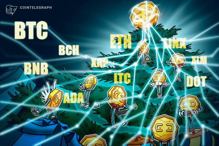 Price analysis 12/28: BTC, ETH, XRP, LTC, BCH, DOT, ADA, BNB, LINK, XLM