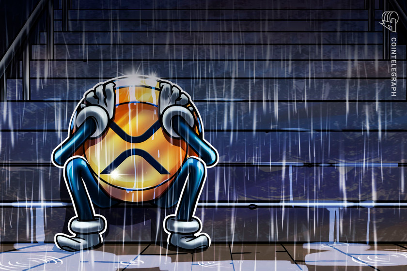 XRP price drops 13% since Flare Network airdrop — but the bottom may be close