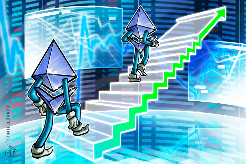 Ether hits yearly highs as Bitcoin tops $22K