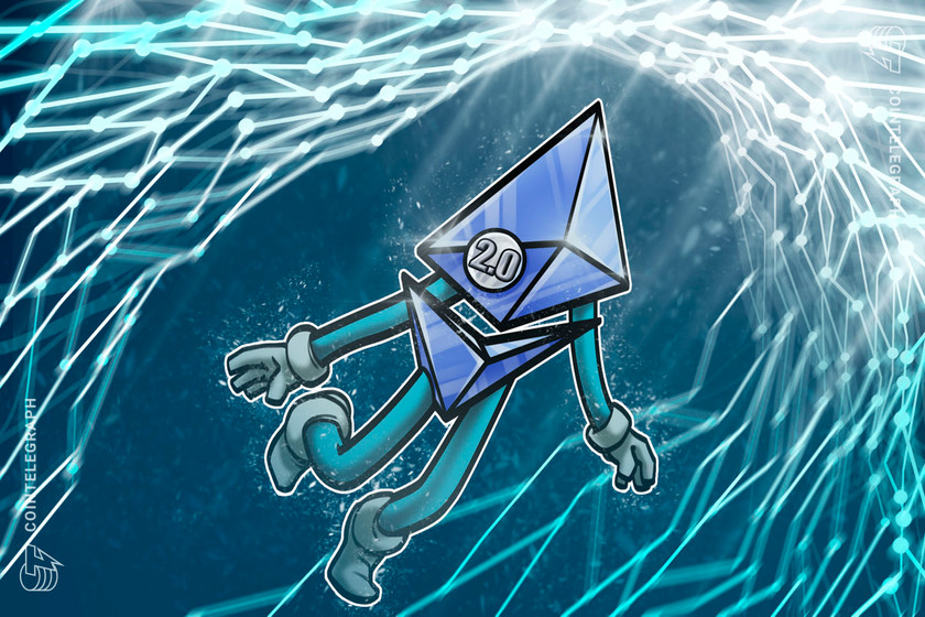 Ethereum 2.0 closes in on $4B value locked as stakers commit over 2% of supply
