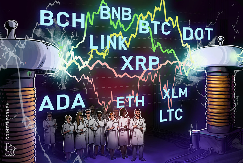 Price analysis 1/29: BTC, ETH, DOT, XRP, ADA, LINK, LTC, BCH, BNB, XLM
