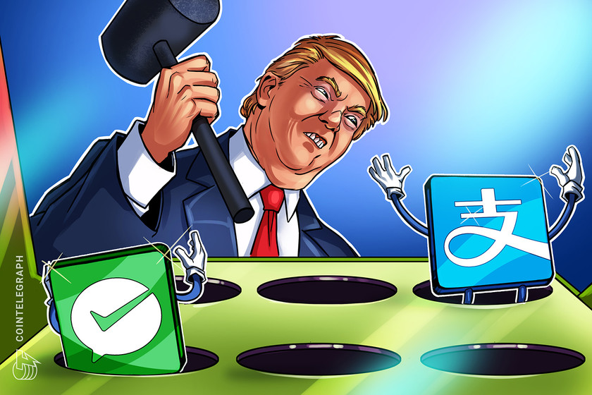 Trump bans Chinese payment apps, including AliPay and WeChat Pay