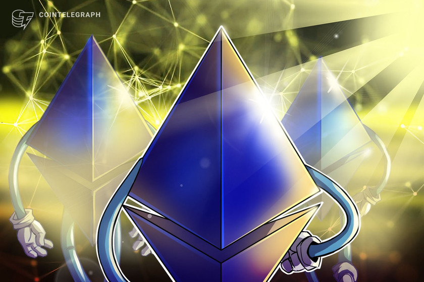 Ethereum bursts into list of top 100 assets in the world by market cap