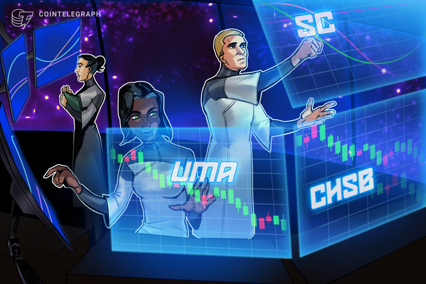 DeFi boom pushes Universal Market Access (UMA), SwissBorg and Siacoin (SC) higher