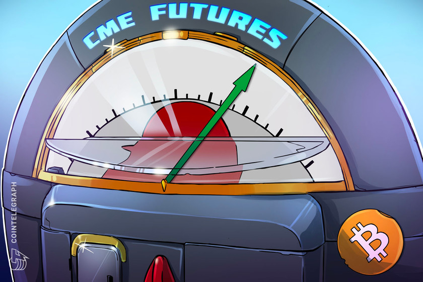 CME Bitcoin futures numbers saw a 57% uptick in January