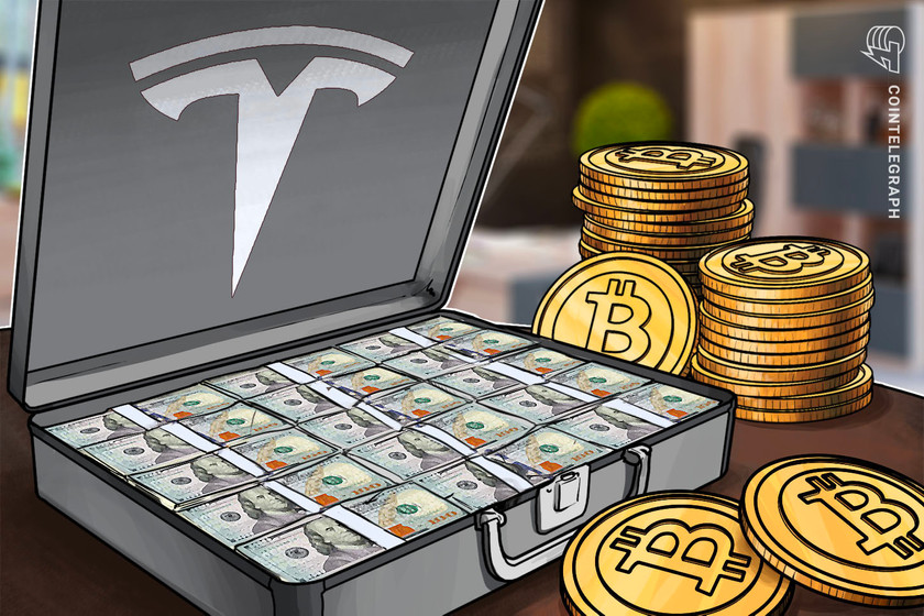 Tesla allocates 7.7% of gross cash to Bitcoin