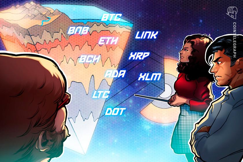 Price analysis 2/3: BTC, ETH, XRP, DOT, ADA, LINK, LTC, BCH, BNB, XLM