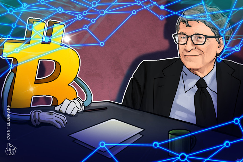 'I've taken a neutral view' on Bitcoin, says Bill Gates