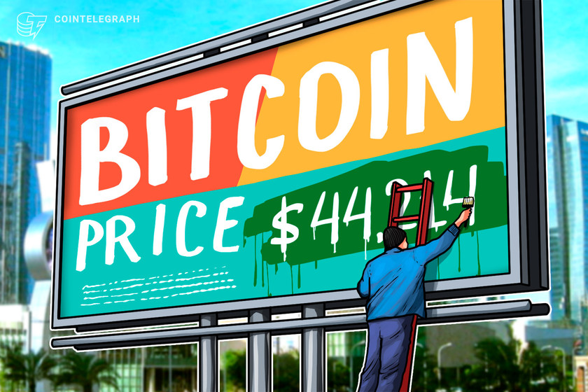 Bitcoin whale clusters pinpoint $44,214 as the key near-term price level