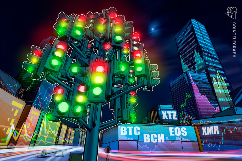 Top 5 cryptocurrencies to watch this week: BTC, BCH, EOS, XMR, XTZ
