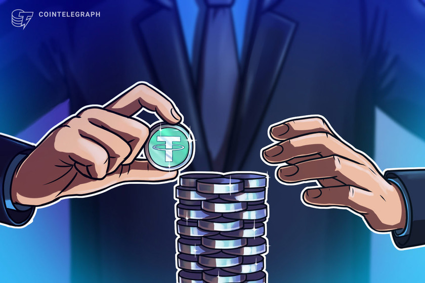 Tether market cap surpasses $40B, growing 10x over 12 months