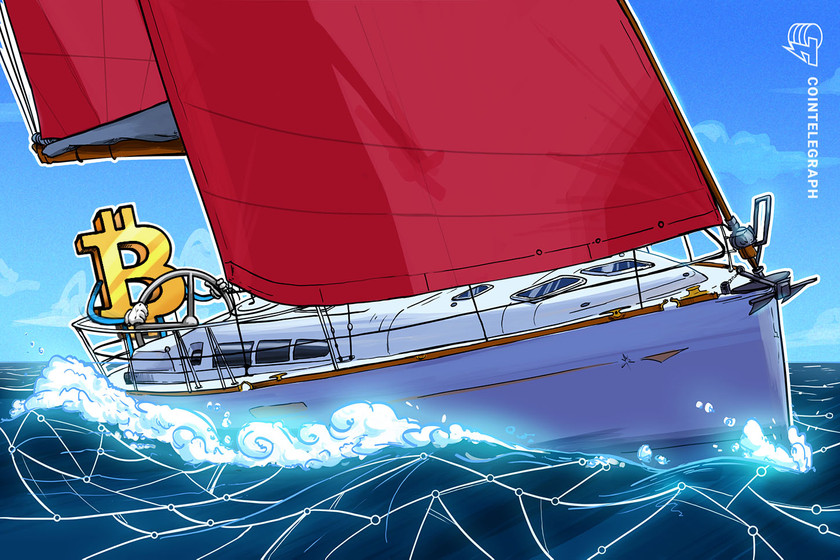 Bitcoin now the prize for this sailing event
