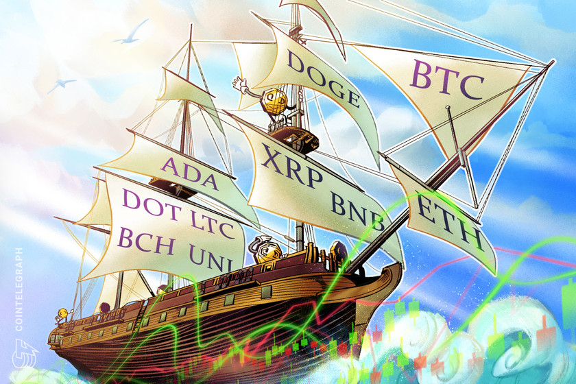 Price analysis 4/19: BTC, ETH, BNB, XRP, DOGE, ADA, DOT, LTC, BCH, UNI