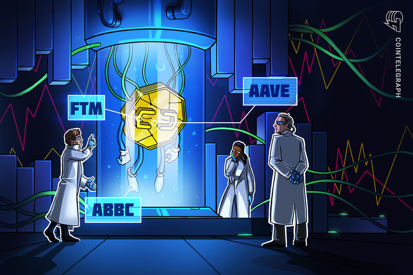 ABBC Coin, AAVE and Fantom (FTM) rally higher after partnership announcements
