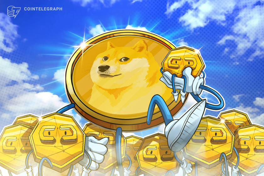 Dogecoin passes Tether's market cap following eToro integration