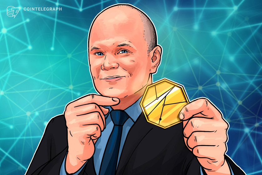 Does Mike Novogratz hold more than $5B in crypto?