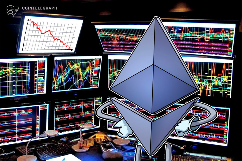 Ether balances on centralized exchanges fall to lowest level since June 2019