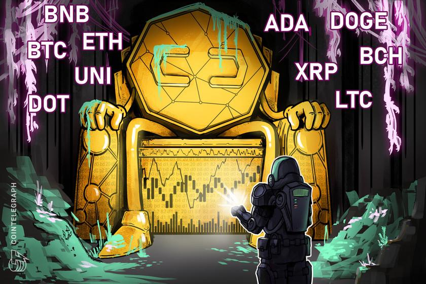 Price analysis 6/23: BTC, ETH, BNB, ADA, XRP, DOGE, DOT, UNI, BCH, LTC