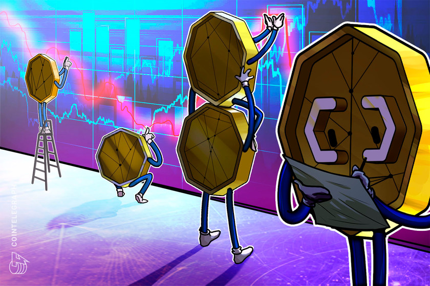 Crypto market cap recovers $76B, altcoins rally after Bitcoin hits $34K