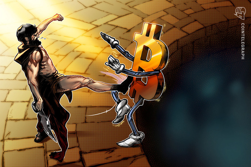Bulls largely absent as Bitcoin price slips to the bottom of its range near $32K
