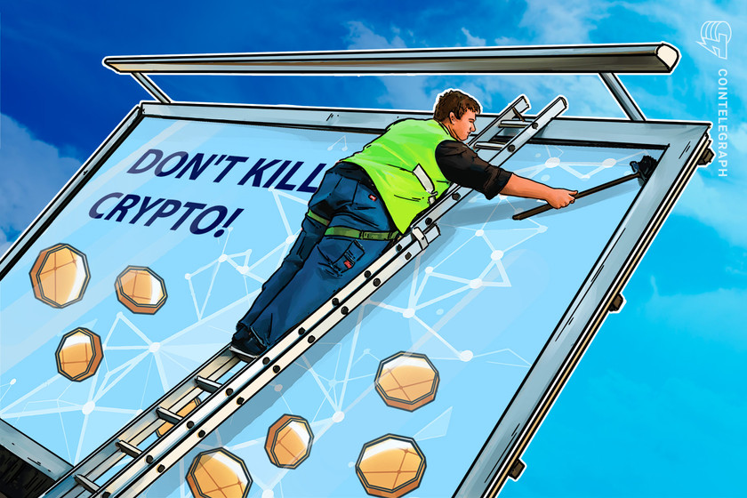 'Don't kill crypto' billboard goes up in Alabama in advance of House tackling infrastructure