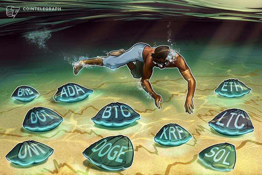 Price analysis 8/13: BTC, ETH, BNB, ADA, XRP, DOGE, DOT, UNI, SOL, LTC