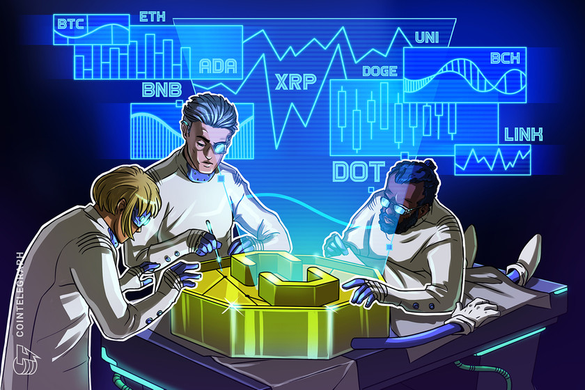 Price analysis 8/9: BTC, ETH, BNB, ADA, XRP, DOGE, DOT, UNI, BCH, LINK