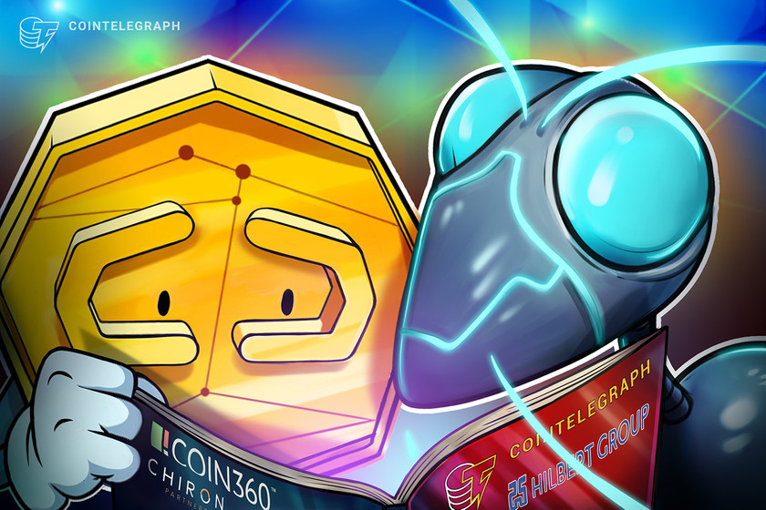 Hilbert Group forms COIN360 JV with Cointelegraph and Chiron Partners
