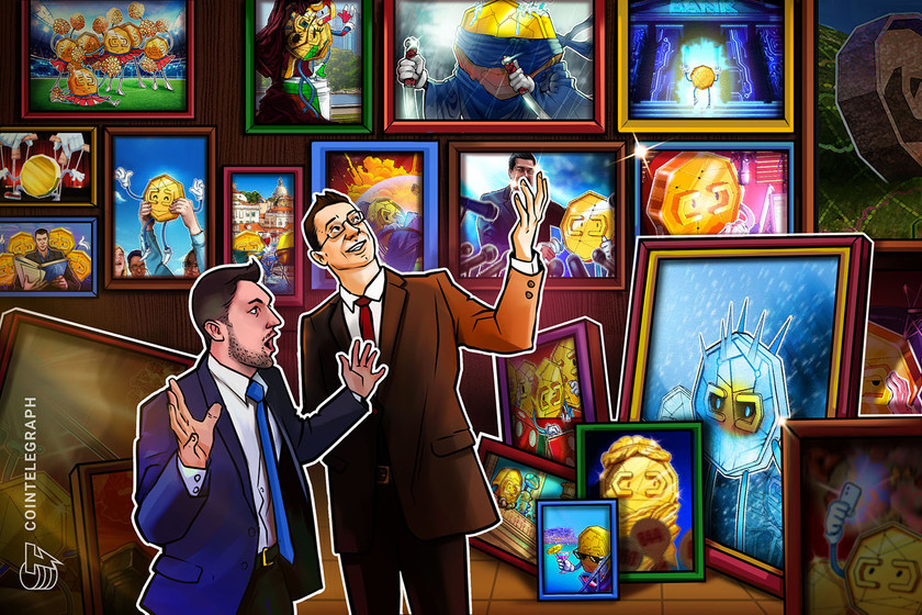 Non-Fungible Token (NFT) Collection - NFTs could mark a resurgence in art galleries