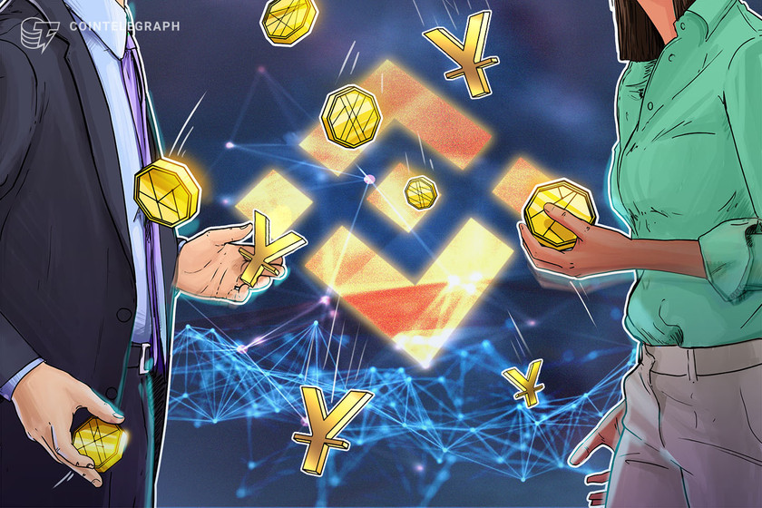 Binance to suspend Chinese yuan from P2P platform in December